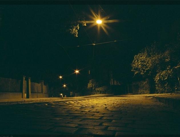 ночь, фонарь