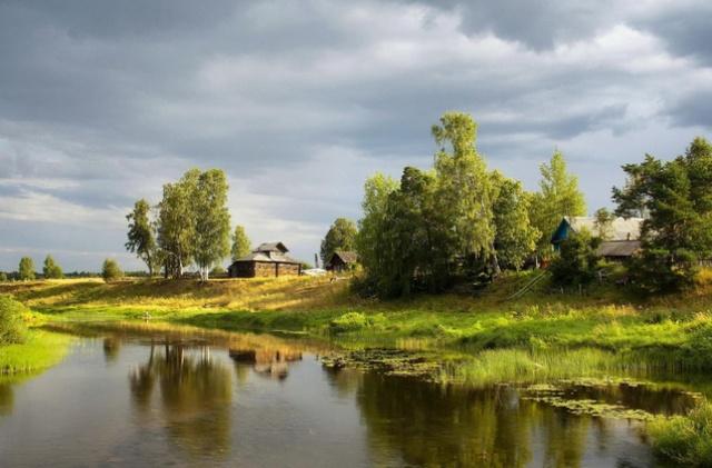тихое село